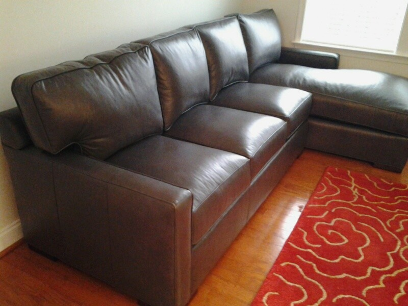 Leatherstone Sectional Century Furniture